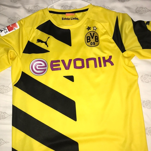 competitive price a66fb a460a Old BVB soccer jersey!